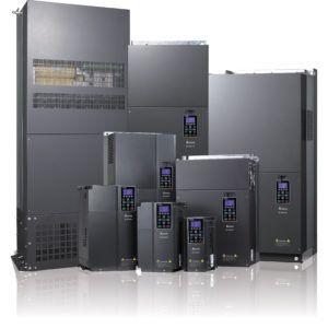 Konfiguracja komunikacji przez Modbus w falownikach serii C2000