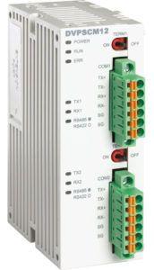 dvp12scm-sl Moduł master RS232, RS485