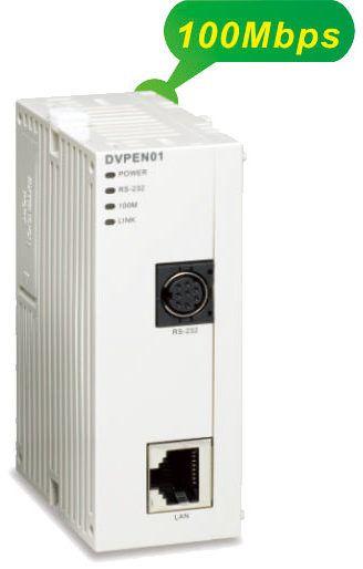 moduł ethernetowy DVPEN01-SL Delta plc slim