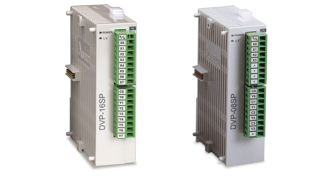 moduły mieszane wejść wyjść do plc delta electronics