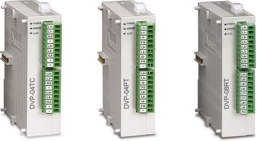 Sterowniki PLC serii DVP-SLIM Delta Electronics - Induprogress