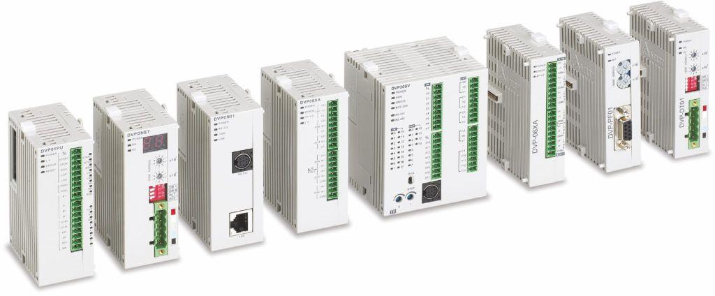 sterowniki plc serii SLIM delta electronics
