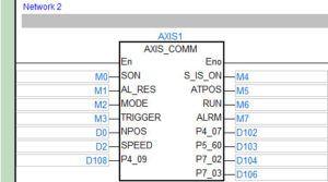 AS300 - steroanie serwonapędem